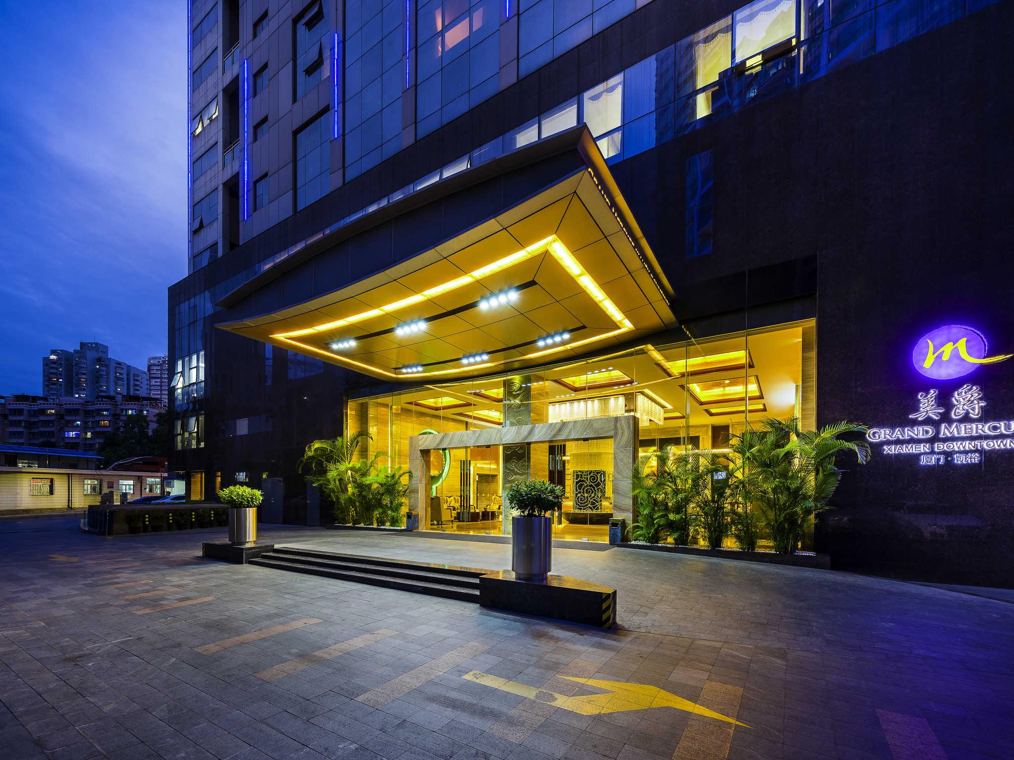 호텔 – Grand Mercure Xiamen Downtown