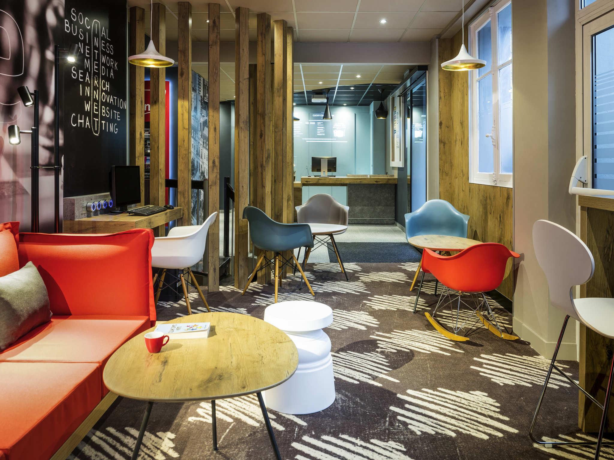 Hotell – ibis Clichy Centre Mairie (öppnar i december 2017)