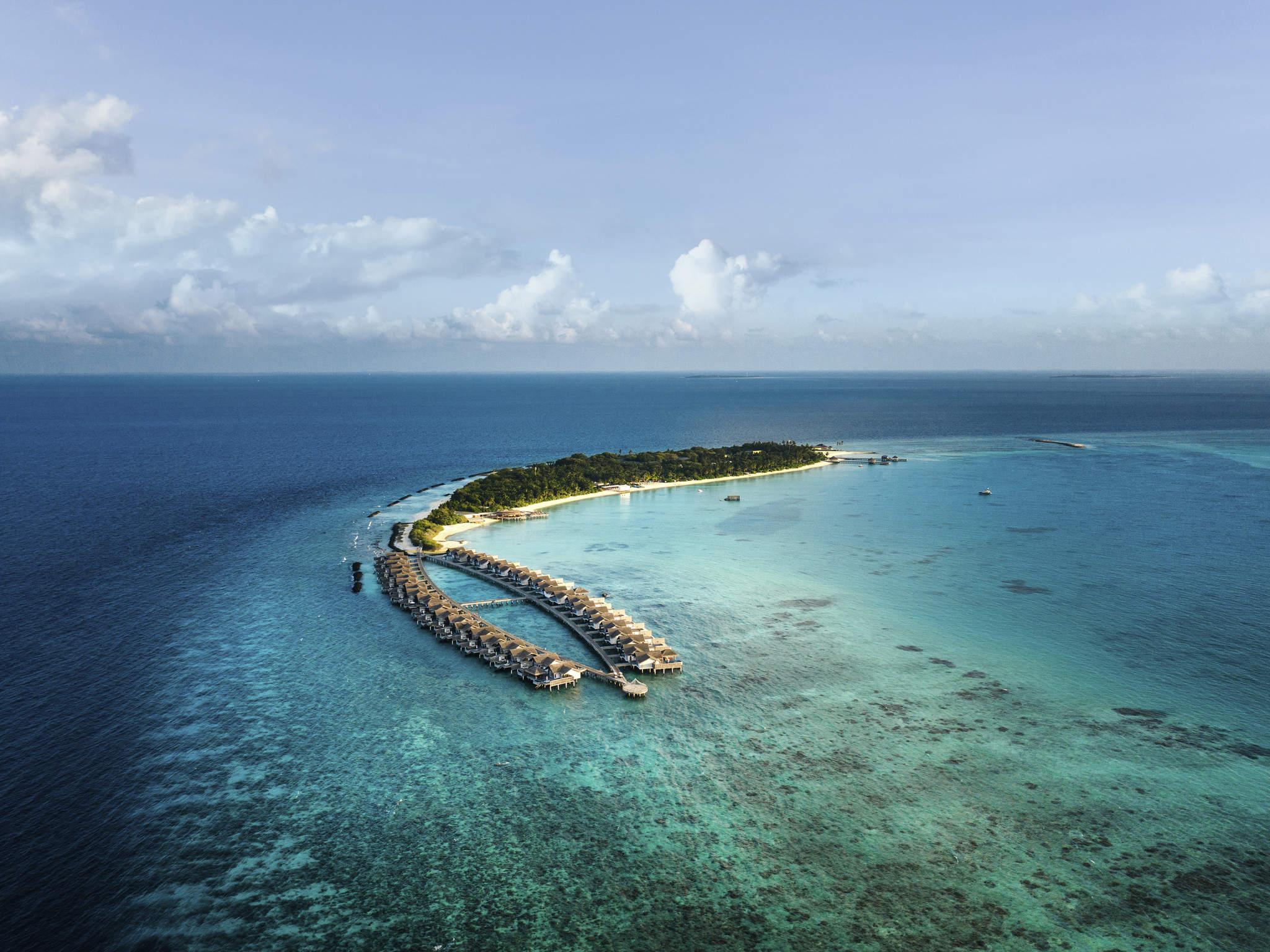 호텔 – Fairmont Maldives - Sirru Fen Fushi