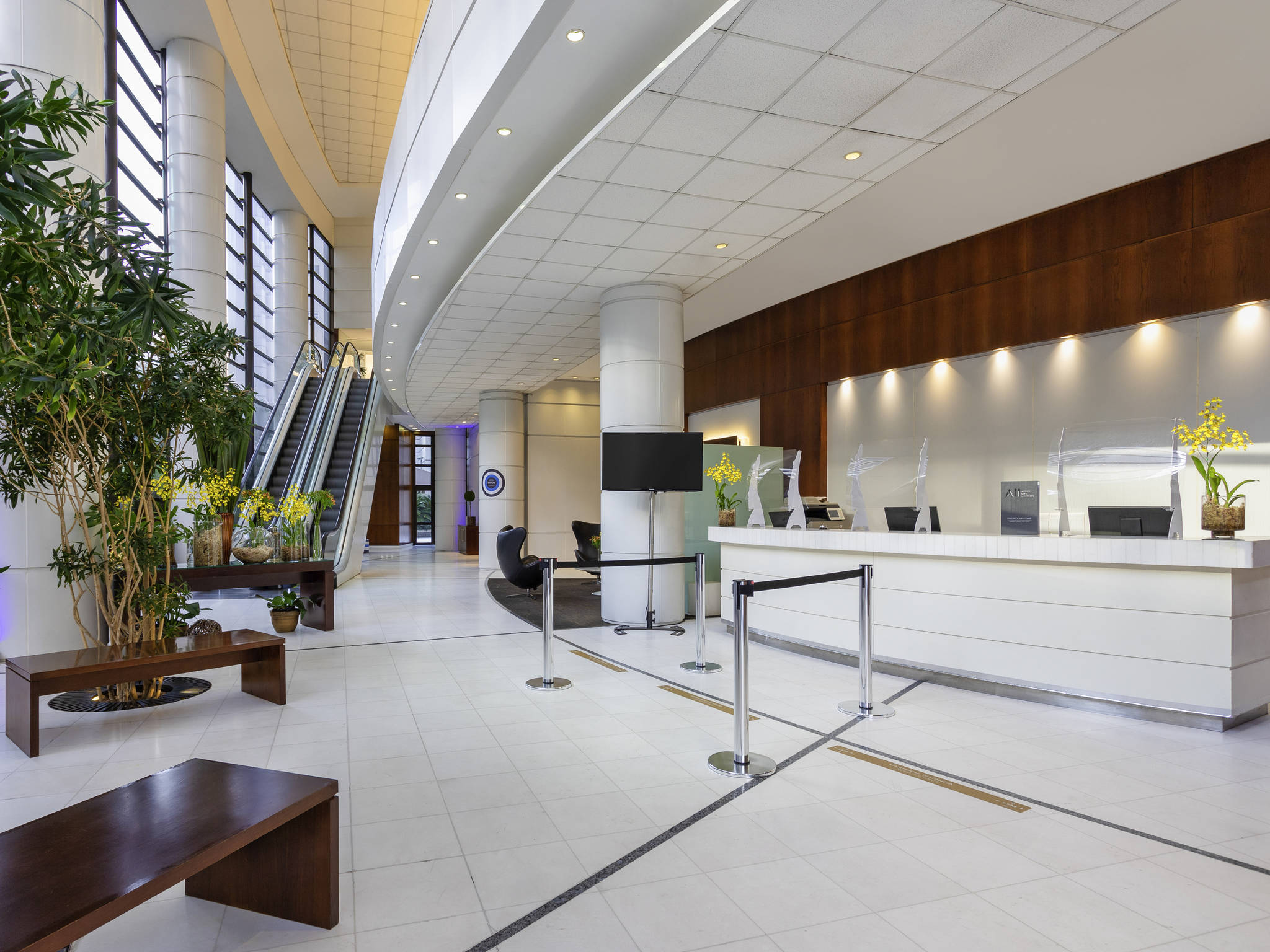 โรงแรม – Mercure Sao Paulo Grand Plaza Paulista