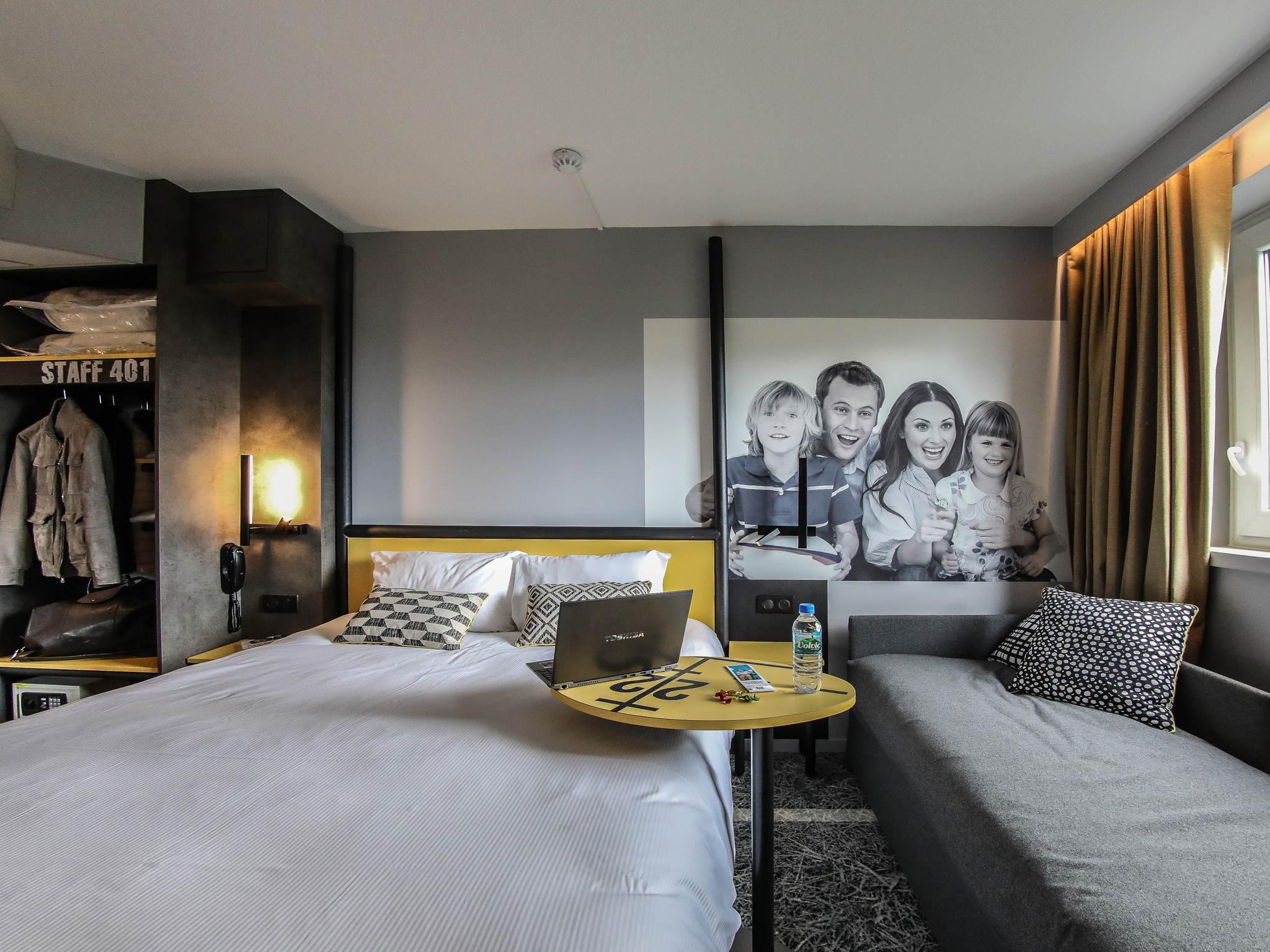 Hotel – ibis Styles Clermont-Ferrand République (inauguração junho 2018)