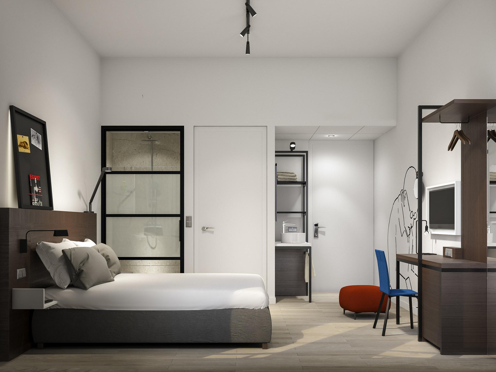 โรงแรม – ไอบิส สไตล์ เดน ฮาก ซิตี้ เซ็นเตอร์