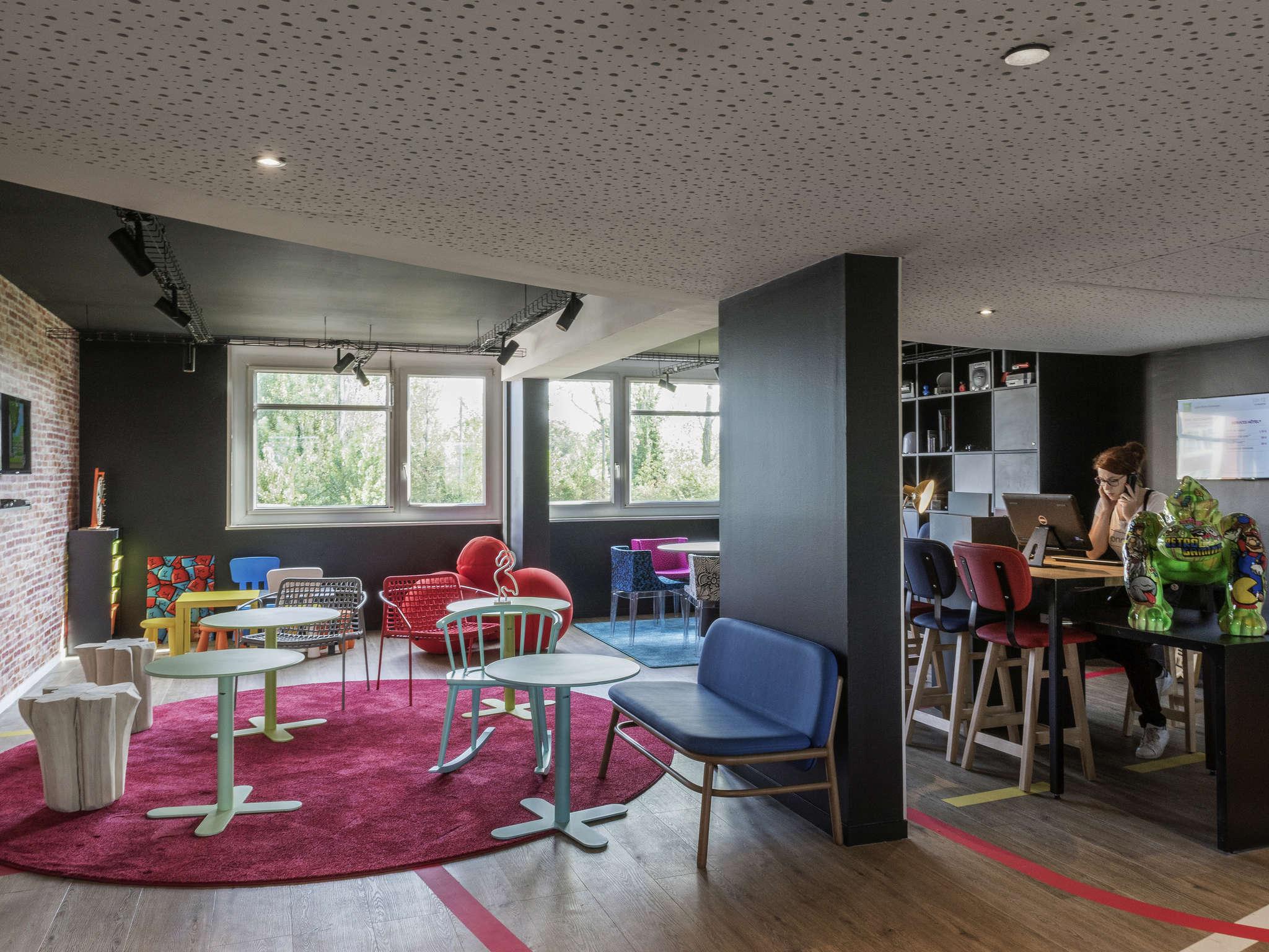 Hotel – ibis Styles Lyon Bron Eurexpo (inauguração em maio de 2018)