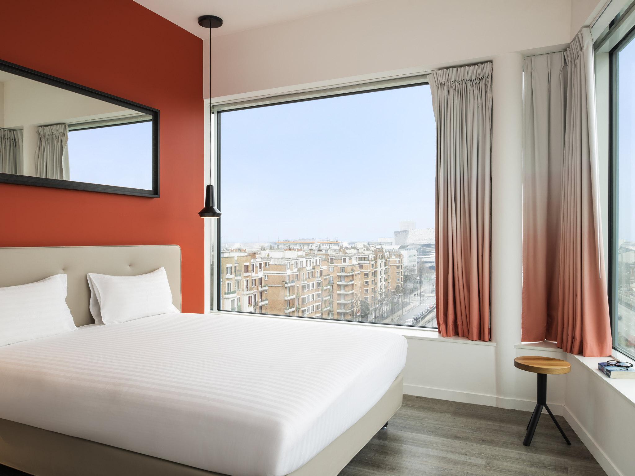 Hotell – Hipark by Adagio Paris La Villette