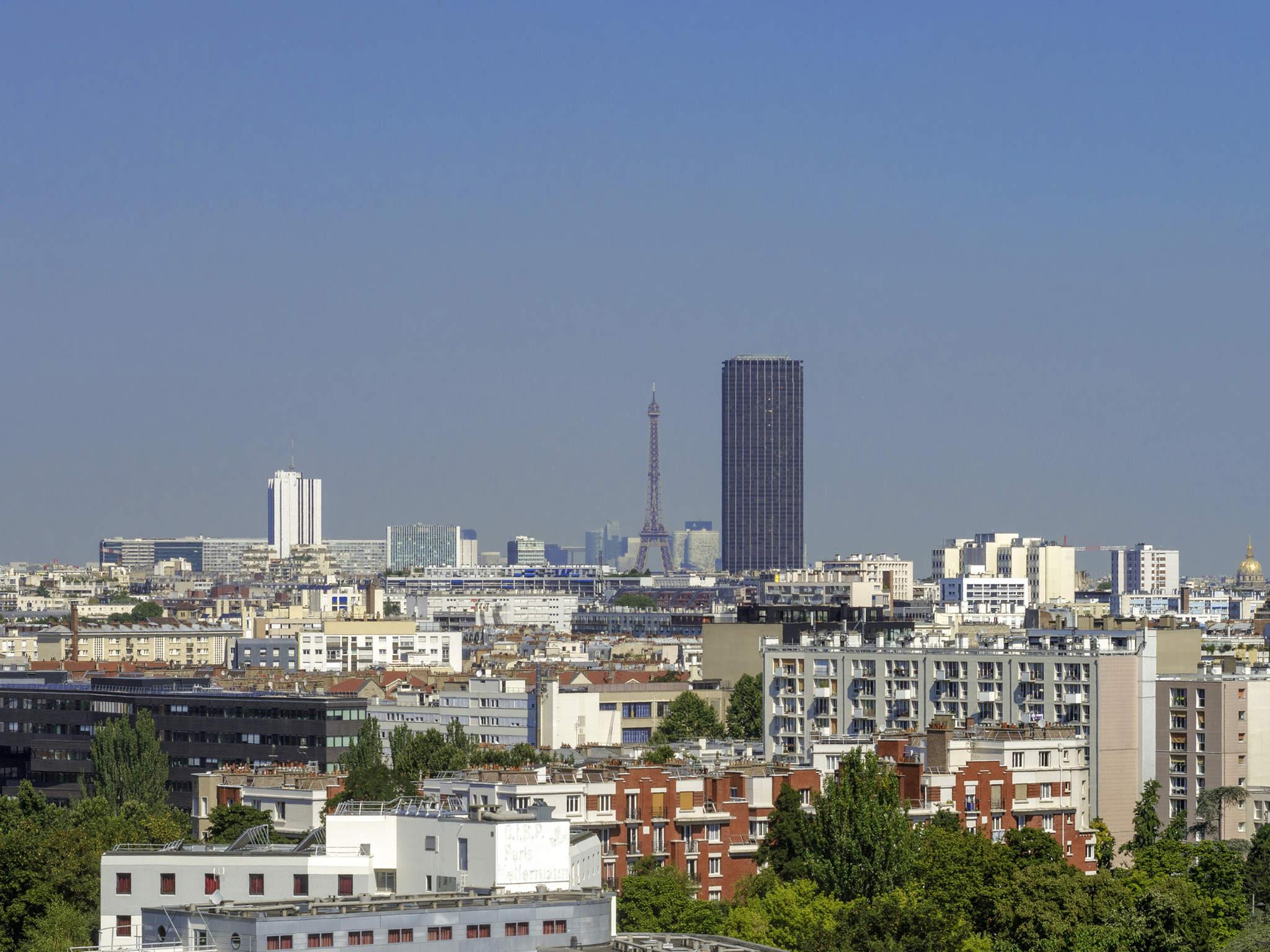 Hotel – ibis Styles Paris Meteor Avenue d'Italie (inaug. maio de 2019)