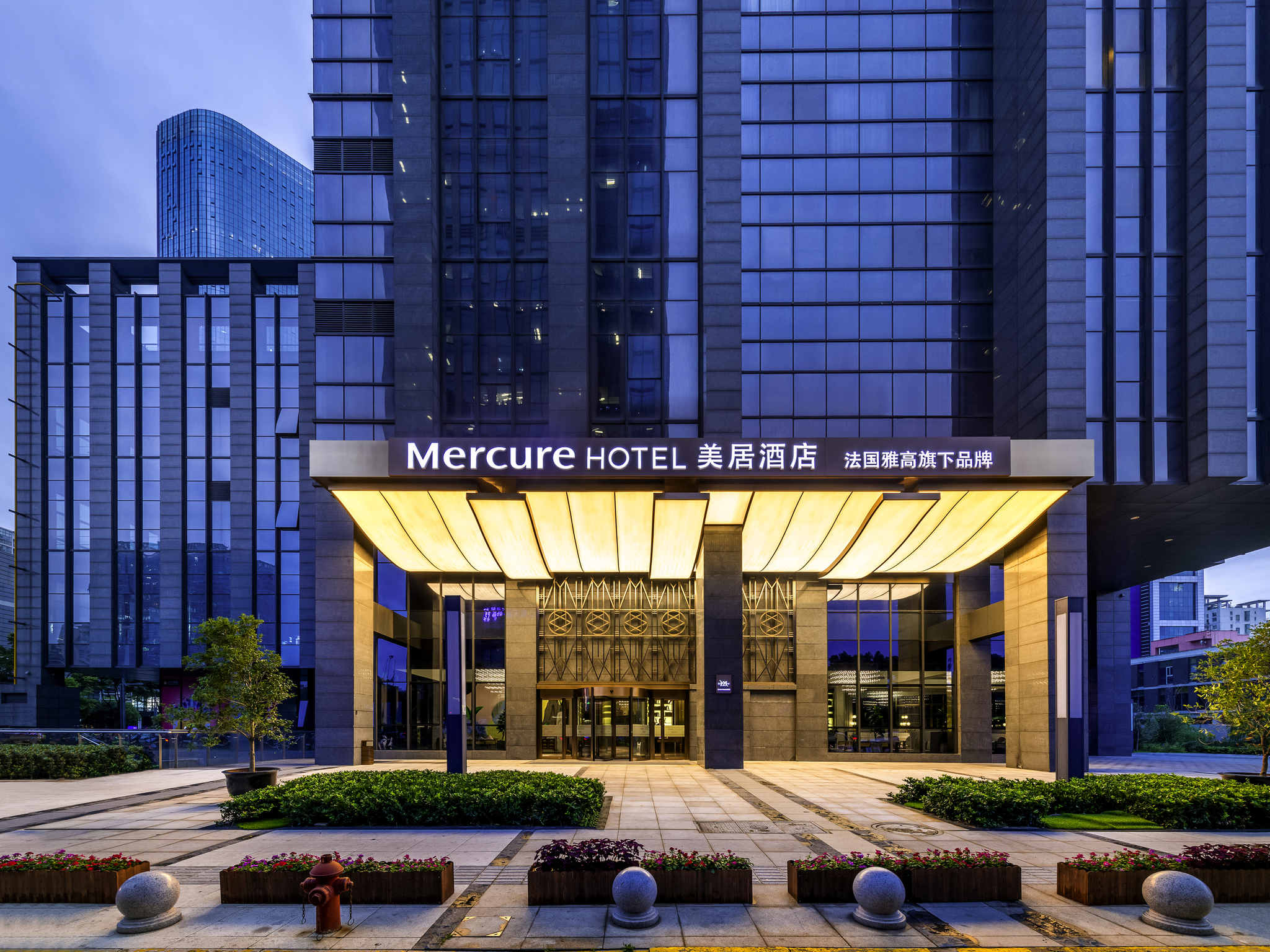 Отель — Mercure Suzhou Jinji Lake