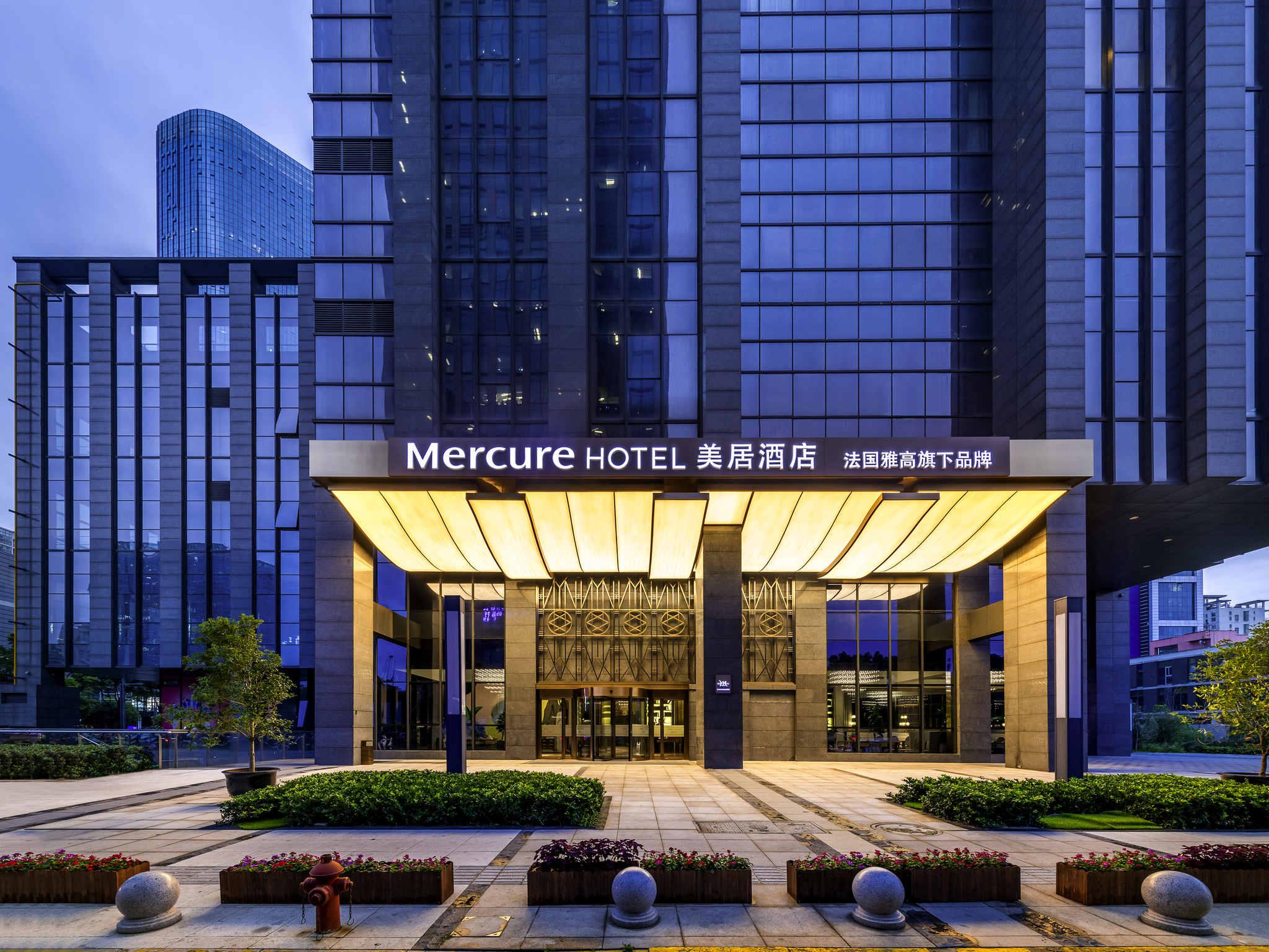 โรงแรม – Mercure Suzhou Jinji Lake (Opening August 2018)