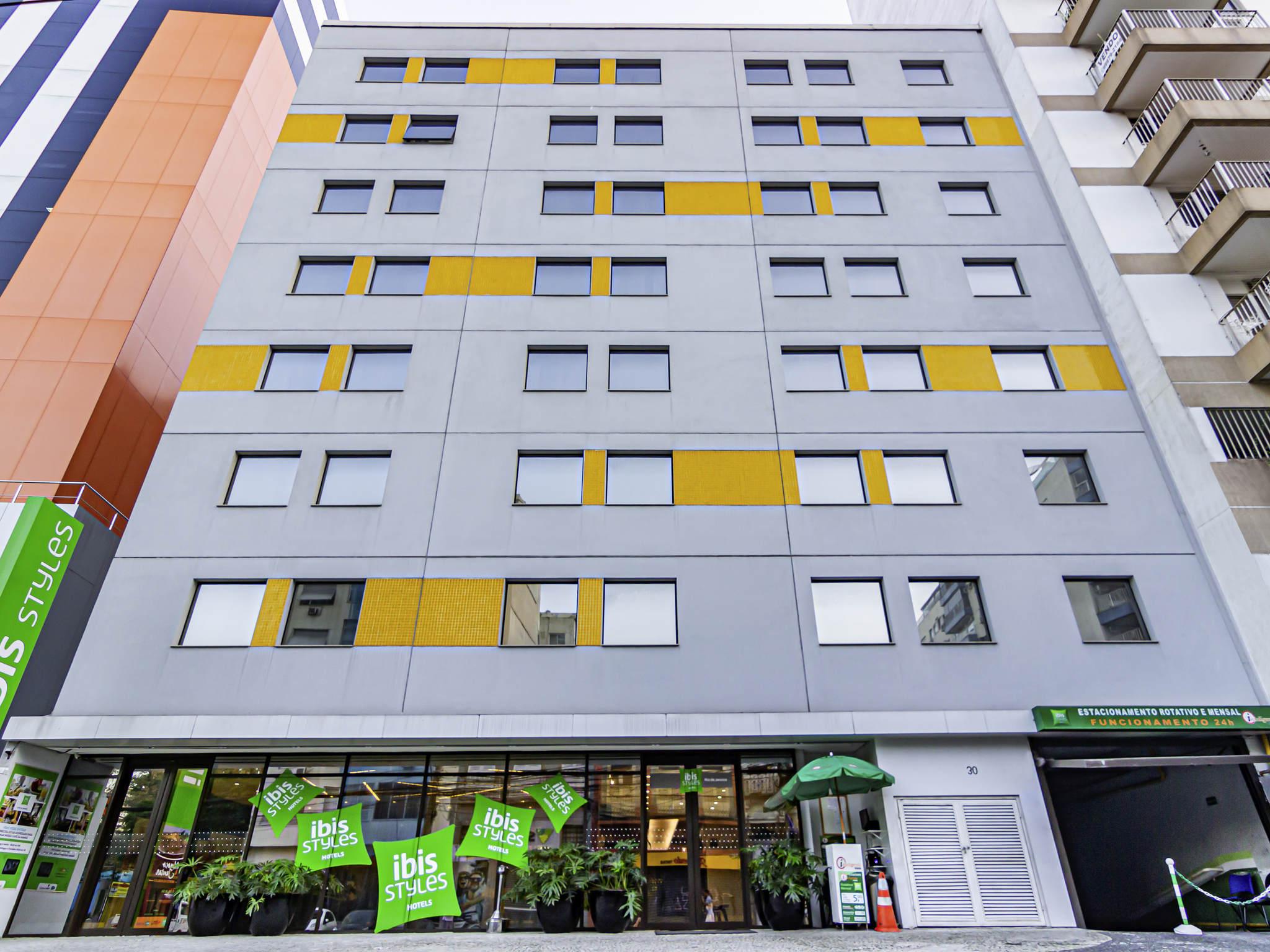 Hotel - ibis Styles Rio de Janeiro Botafogo
