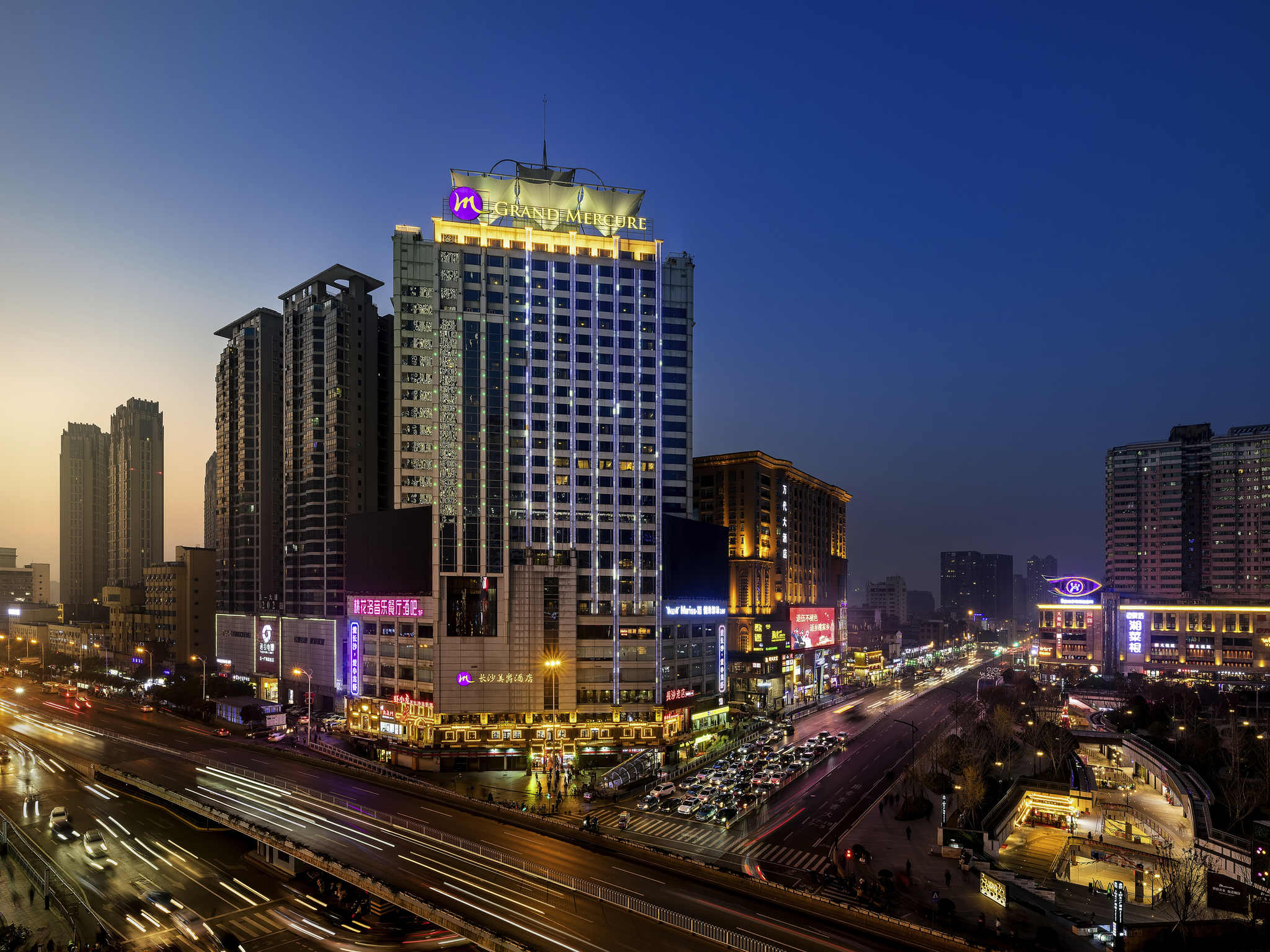 Hotel – Grand Mercure Changsha Downtown
