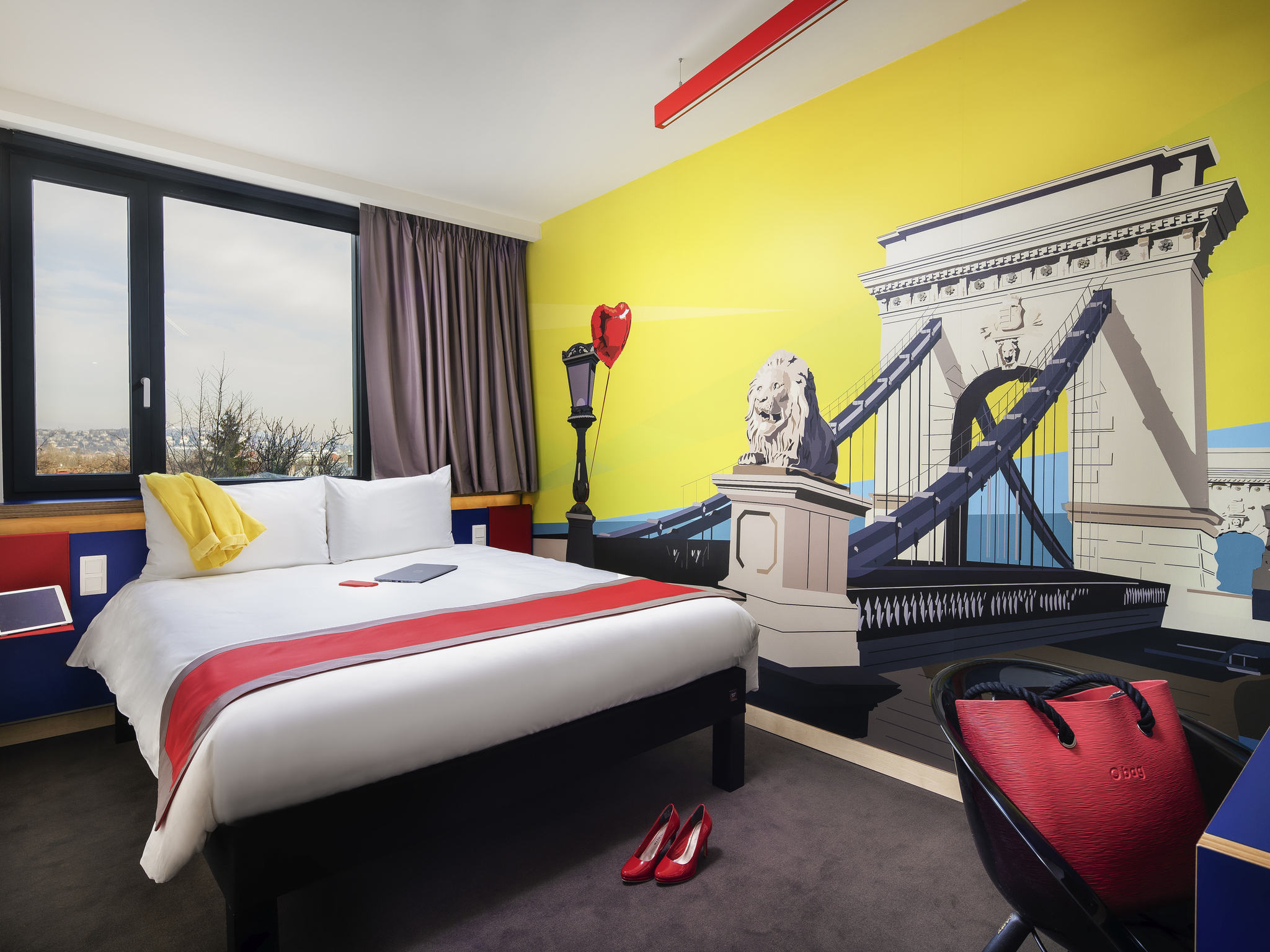Hotel – ibis Styles Budapest Citywest