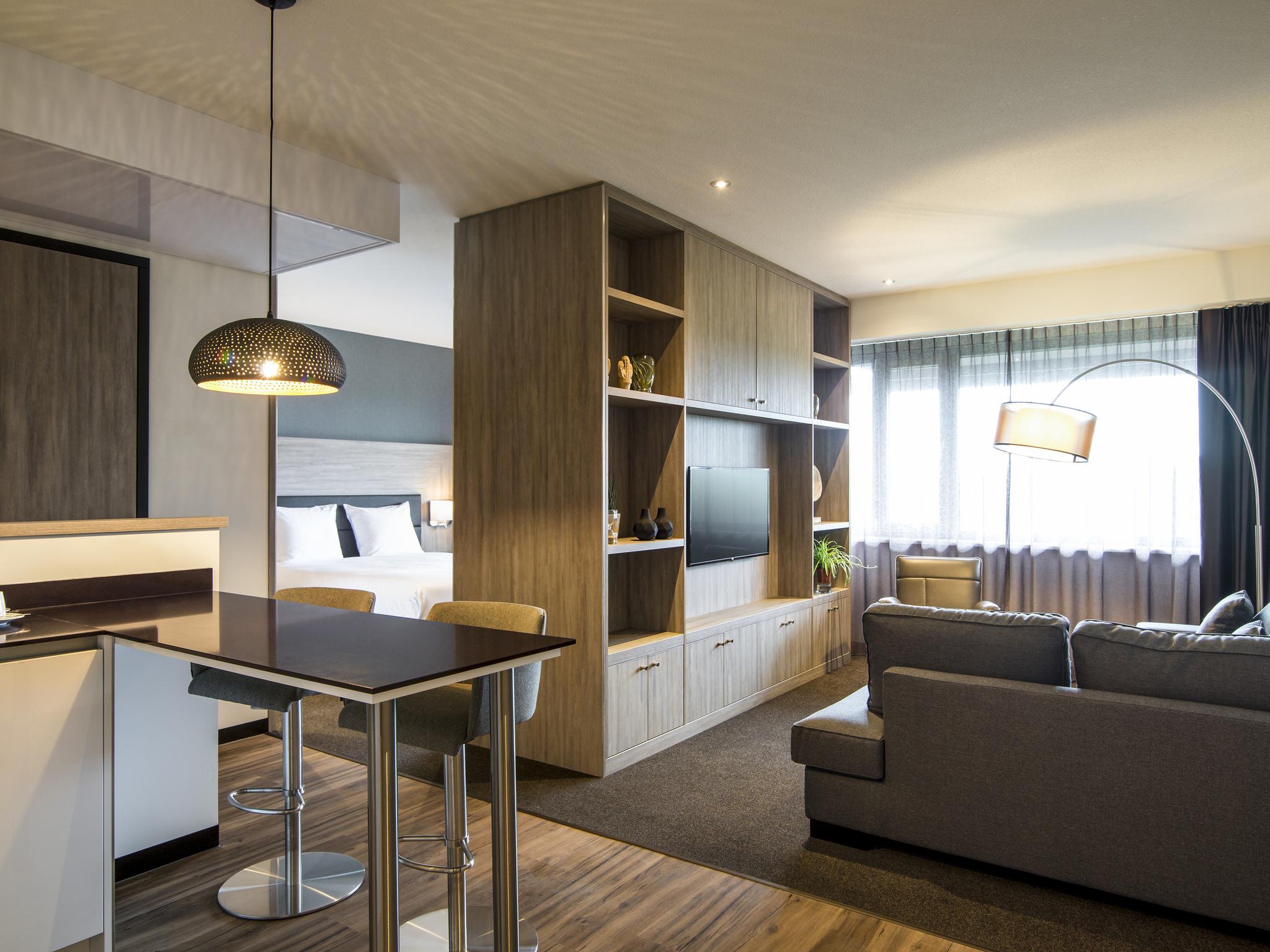 Отель — Апарт-отель Adagio Амстердам Сити Юг