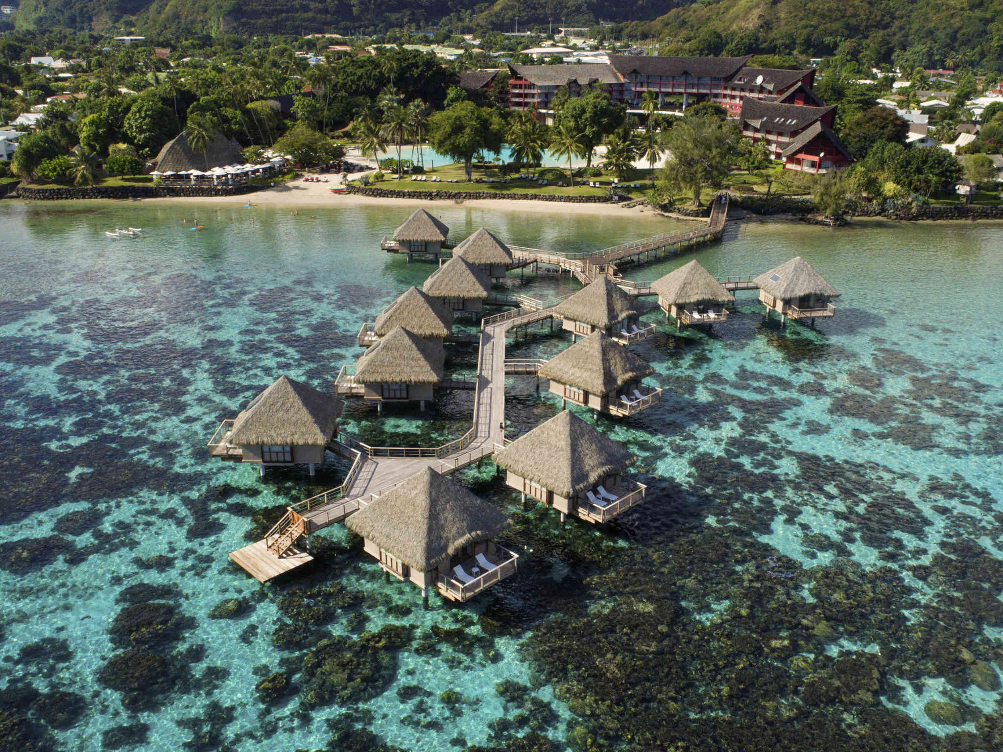 호텔 – Tahiti Ia Ora Beach Resort - Managed by Sofitel