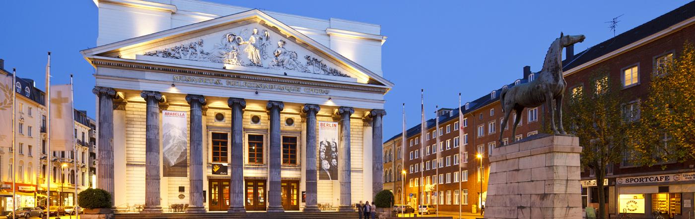 Allemagne - Hôtels Aix-la-Chapelle