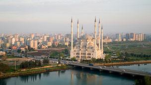 Turcja - Liczba hoteli Adana