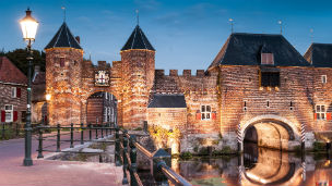 Holandia - Liczba hoteli Amersfoort