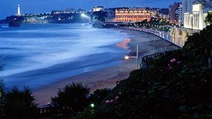 Francja - Liczba hoteli Anglet