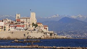 Francja - Liczba hoteli Antibes