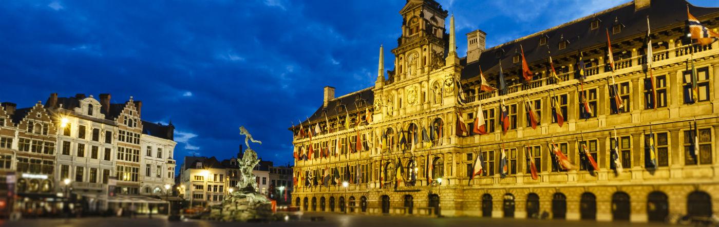 Belgien - Hotell Antwerpen