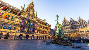 Belgia - Liczba hoteli Antwerpia