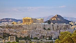 Grecja - Liczba hoteli Ateny