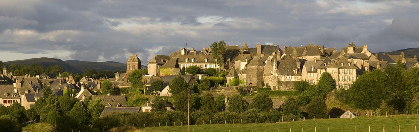 Francia - Hoteles Aurillac