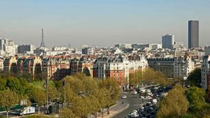 Francja - Liczba hoteli Bagnolet