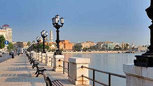 Włochy - Liczba hoteli Bari
