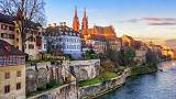 Szwajcaria - Liczba hoteli Basle