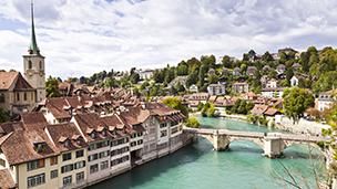 Szwajcaria - Liczba hoteli Berno