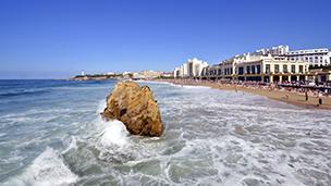 Francja - Liczba hoteli Biarritz