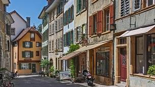Szwajcaria - Liczba hoteli Biel