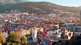 Hiszpania - Liczba hoteli Bilbao