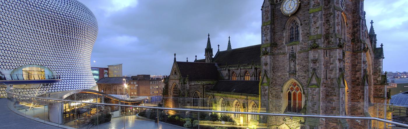 Wielka Brytania - Liczba hoteli Birmingham
