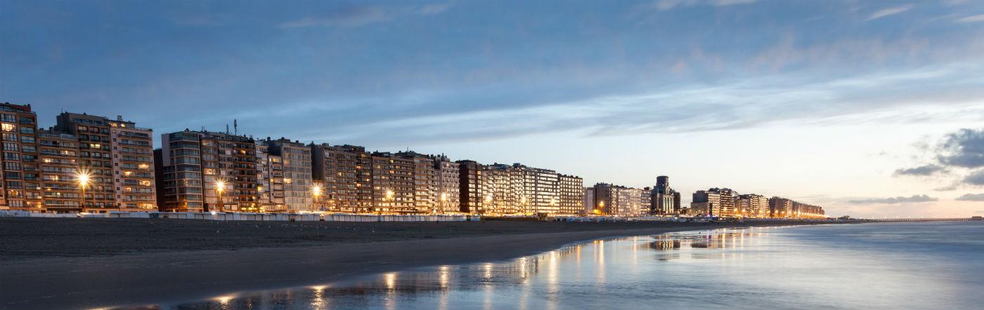 Belgia - Liczba hoteli Blankenberge
