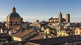 Włochy - Liczba hoteli Bolonia