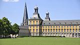 Niemcy - Liczba hoteli Bonn
