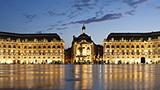 Francja - Liczba hoteli Bordeaux