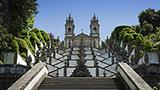 Portugalia - Liczba hoteli Braga