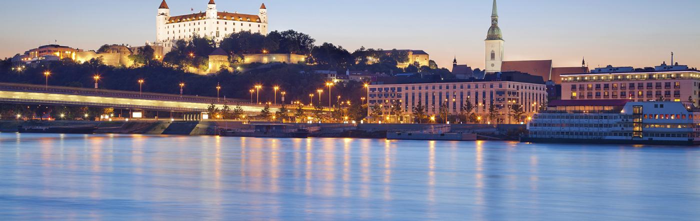 Słowacja - Liczba hoteli Bratysława