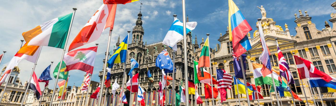 Belgien - Hotell Bryssel