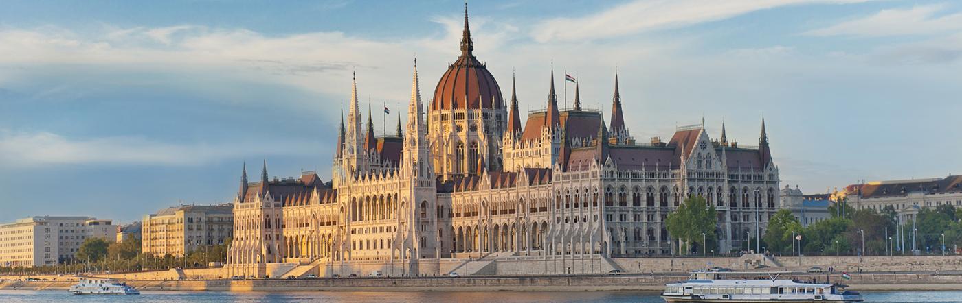 Węgry - Liczba hoteli Budapeszt