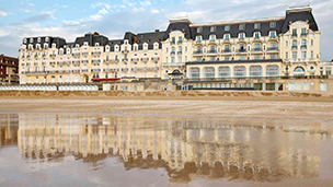 Frankrike - Hotell Cabourg