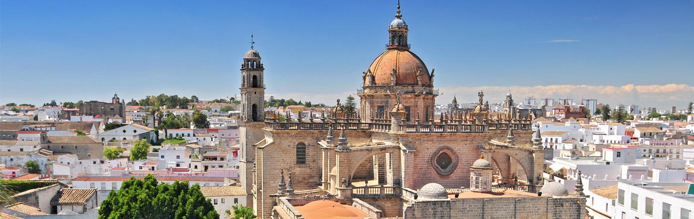 Hiszpania - Liczba hoteli Kadyks