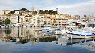 Francja - Liczba hoteli Cannes