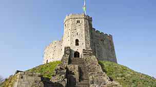 WielkaBrytania - Liczba hoteli Cardiff