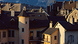 Francja - Liczba hoteli Chambery