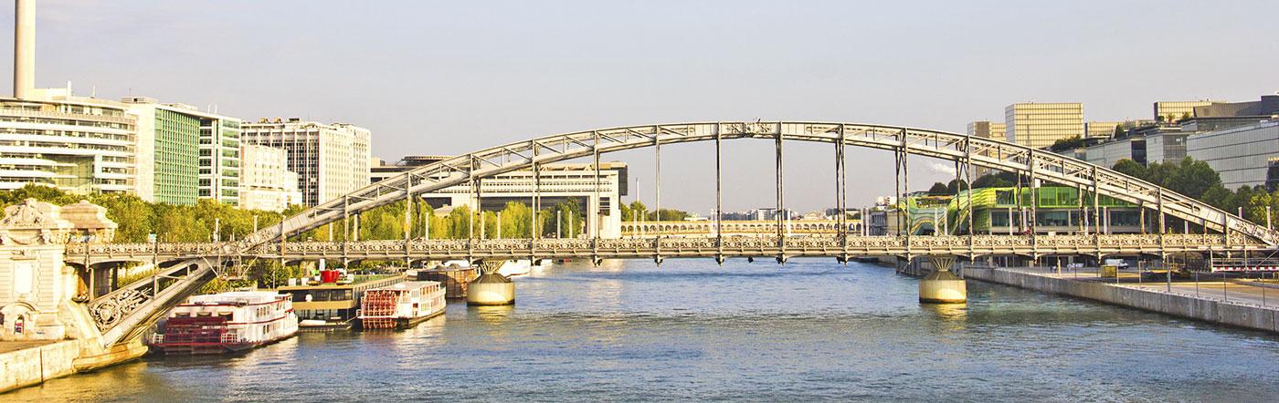 Francja - Liczba hoteli Charenton Le Pont