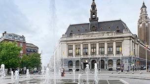 Belgia - Liczba hoteli Charleroi