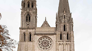 Francja - Liczba hoteli Chartres
