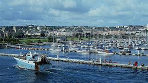 Francja - Liczba hoteli Cherbourg